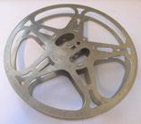 leere Tonbandspule / Filmspule aus Metall