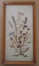 Bild mit gepressten Blumen - DDR - Nr. 7