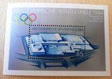 Briefmarke - XIV. Olympische Winterspiele 1984 - DDR