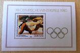 Briefmarke - XIII Olympische Winterspiele 1980 - DDR