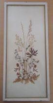 Bild mit gepressten Blumen - DDR - Nr. 9
