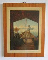 Kunstdruck Kahnfahrt auf der Elbe bei Dresden - Carl Gustav Carus