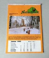 Kalender Naturpark Niederlausitzer Heidelandschaft 1992