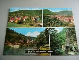 Ansichtskarte - Gruß aus dem Bodetal (Harz)