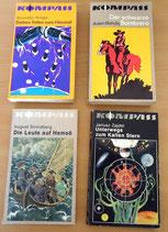 4er Set Taschenbücher - Kompass-Bücherei - Verlag Neues Leben Berlin (#2)