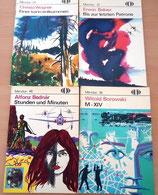 4er Set Meridian-Hefte - Deutscher Militärverlag Berlin - 70er Jahre