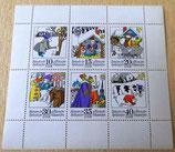 Briefmarkenbogen - Russische Volksmärchen - DDR