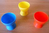 Eierbecher - verschiedene Farben - DDR