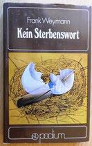 Frank Weymann - Kein Sterbenswort - Verlag Neues Leben Berlin