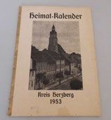 Heimatkalender Kreis Herzberg 1953