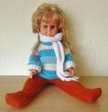 Niedliche Puppe - Blond - DDR