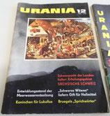 Urania - Wissen und Leben - Natur und Heimat - 6 Hefte 1960er Jahre