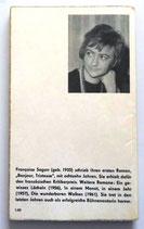 Francoise Sagan - Lieben Sie Brahms? - Aufbau-Verlag Berlin