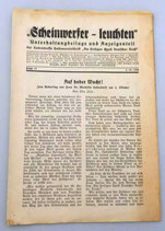 Scheinwerfer-leuchten - Unterhaltungsbeilage und Anzeigenteil der Ludendorffs Halbmonatsschrift