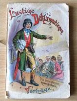 Lustige Deklamationen - Die beliebtesten komischen Vorträge - Taschenbuch