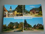 Ansichtkarte - Gruß aus dem Osterzgebirge