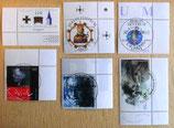 Verschiedene Briefmarken - 19 Stück