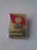 Abzeichen - 30 Jahre