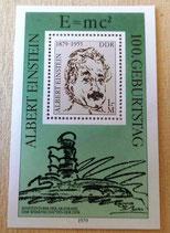 Briefmarke - 100. Geburtstag Albert Einstein - DDR 1979