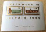 Briefmarke - Intermess III Leipzig 1965 - DDR