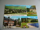 Ansichtskarte - Sommer- und Winterkurort Oberwiesenthal