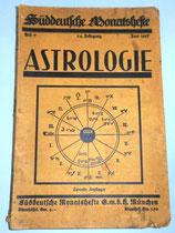 Astrologie - Süddeutsche Monatshefte - Heft 9 - 24. Jahrgang Juni 1927