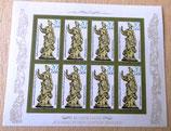 Briefmarkenbogen - Kunstschätze aus dem grünen Gewölbe Dresden - DDR 1984