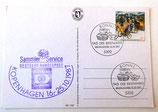 """Postkarte mit der Erstausgabe """"Tag der Briefmarke"""" 1987"""