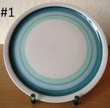 Kuchenteller - Porzellan/Keramik - verschiedene Designs - DDR