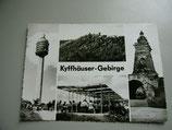 Ansichtskarte - Kyffhäuser-Gebirge