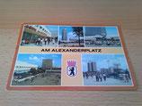 Ansichtskarte - Am Alexanderplatz