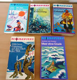 5er Set Taschenbücher - Kompass-Bücherei - Verlag Neues Leben Berlin (#2)
