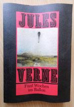 Jules Verne - Fünf Wochen im Ballon - Verlag Neues Leben Berlin
