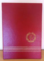 Dokumenten-/Urkunden-Mappe mit DDR-Embelm