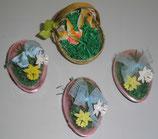 schönes 4-teiliges Osterset zum befüllen