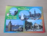 Ansichtskarte - Hamburg,Hansastadt an der Elbe