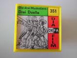 Filmrolle in Plastikbox - Die drei Musketiere: Drei Duelle