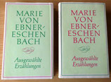 Marie von Ebner-Eschenbach - Ausgewählte Erzählungen Band 1-2