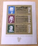 Briefmarke - Bach-Händel-Schütz-Ehrung der DDR 1985