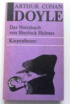Arthur Conan Doyle - Das Notizbuch von Sherlock Holmes - Kiepenheuer Taschenbuch