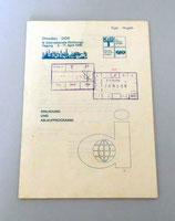 9. Internationale Dichtungstagung Dresden DDR