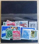 Briefmarkenkonvolut - verschiedene Sorten