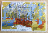 Briefmarke gestempelt - Nationalpark Hainich - 2000
