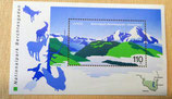 Briefmarke - Nationalpark Berchtesgaden - 1999