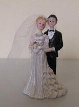 Brautpaar mit Schleier
