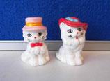 Katzen mit Hut