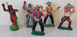 Spielzeugfiguren - Cowboys & Indianer - DDR