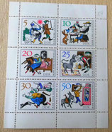 Briefmarkenbogen - Tischlein deck dich - DDR
