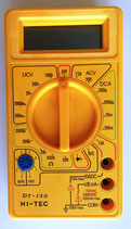 Alcron Digital-Multimeter - DT-130 HI-TEC - gelb