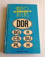 Auto-Atlas DDR mit Bulgarien, ČSSR, Polen Rumänien, UdSSR und Ungarn 1982/83